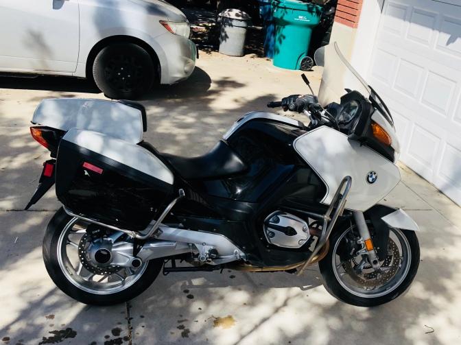 Retired Police Bike from CA